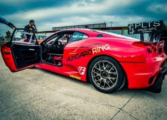 Ferrari élményvezetés a Hungaroringen