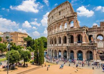 Séta Rómában - 5nap 3*-os szállással, reggelivel, repülőjeggyel
