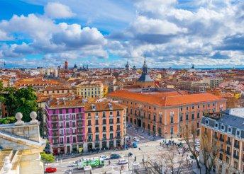 Városnézés az elegáns Madridban, 3* + reggeli