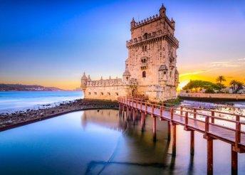 4 nap Lisszabonban reggelivel, repülőjeggyel, 3*-os hotelben