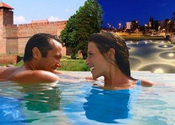 3 nap 2 személyre az Aqua Hotel Gyula Superiorban, félpanzióval, 1 palack pezsgővel, 1 szál rózsával