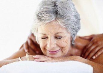 60 perces senior masszázs a Princess Beauty szalonban az idősebb korosztály számára, ápoló, pihentető masszázs