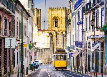 6 nap 1 főre Lisszabonban, Portugáliában, reggelivel, repülőjeggyel, 2*-os hotelben