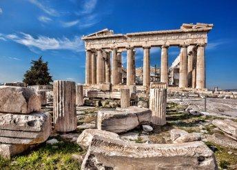 5 nap 1 személyre Athénban, a görög fővárosban, reggelivel, repülőjeggyel, 3*-os hotelben