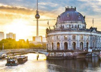 5 napos városnézés 1 főre Berlinben, reggelivel, repülőjeggyel, a város szívében lévő 3*-os hotelben