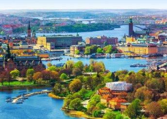5 napos városnézés 1 személyre Stockholmban, reggelivel, repülőjeggyel, 3*-os hotelben