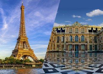 Versailles, Párizs, Loire-völgy – 7 napos kirándulás 1 főre reggelivel, buszos utazással, idegenvezetéssel