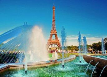 Párizsi városnézés Disneylanddel 1 főre, 3+2 éjszaka szállás reggelivel, busszal, idegenvezetéssel