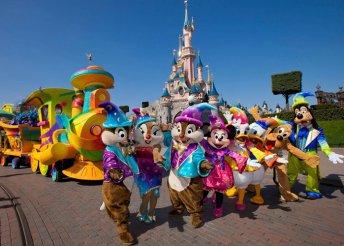 Párizsi városnézés Disneylanddel 1 főre, 5 éjszaka szállás reggelivel, busszal, idegenvezetéssel