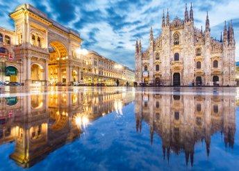5 napos városnézés Milánóban, reggelivel és repülőjeggyel, 3*-os hotelben