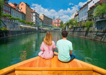 6 napos kirándulás a szlovéniai Alpokban, a Bledi-tónál, reggelivel, busszal, idegenvezetéssel