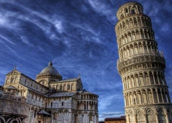 6 napos körút Itália közepén, reggelivel, busszal, idegenvezetéssel