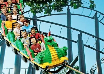 Buszos utazás 1 személyre a günzburgi Legolandbe, 3 választható időpontban – élmény a LEGO szerelmeseinek