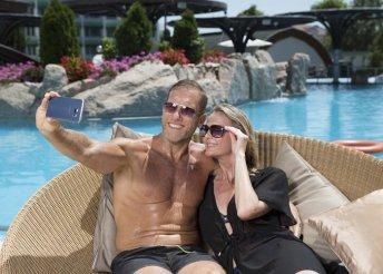 3 napos pünkösdi wellness 2 főre a hévízi NaturMed Hotel Carbona**** superiorban, félpanzióval, programokkal