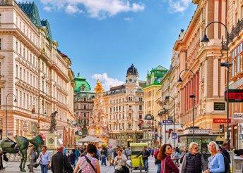 Egynapos buszos utazás 1 személy részére Bécsbe, a hatalmas Naschmarkt piachoz, ahol tényleg minden kapható