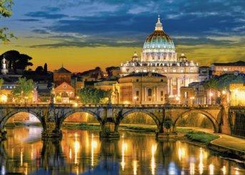 4 nap Rómában, reggelivel és repülőjeggyel, 3*-os hotelben