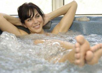 Kényeztető pillanatok wellness használattal, aromaolajos kezelésekkel