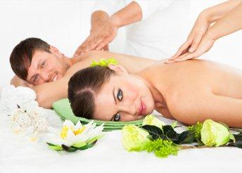 Páros wellness program masszázzsal és aromafürdővel