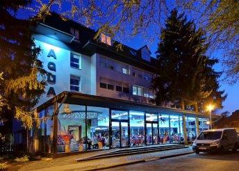 4 napos pünkösdi pihenés 2 főre Gyulán, félpanzióval, borkedvezménnyel, az Aqua Hotel Gyula Superiorban