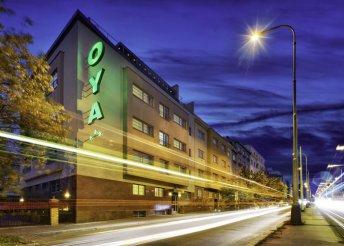 3 napos prágai városnézés 2 személyre reggelivel, szállás a központi helyen lévő Oya*** Hotelben