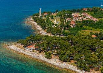 6 nap félpanzióval az Adriai-tengernél, Isztrián, a Depandance Savudrijában***