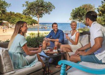 8 napos nyaralás félpanzióval az Adriai-tengernél, Porecben, a Hotel Laguna Gran Vistában***