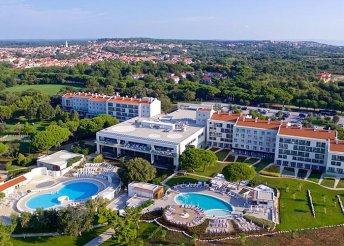 8 nap az Adriai-tengernél, félpanzióval, Medulinban, a Park Plaza Belvedere****Hotelben