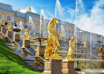 8 nap Szentpéterváron és Moszkvában, reggelivel, vonatjeggyel, magyar nyelvű idegenvezetéssel