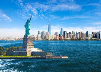 17 napos amerikai körutazás repülőjeggyel, helyi busszal, reggelivel, kirándulásokkal, idegenvezetéssel