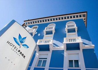 8 nap egész évben az Adriai-tengernél, Lovranban, félpanzióval, a Park**** Hotelben