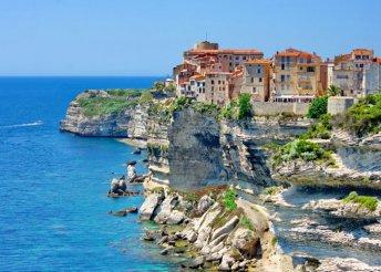 8 nap Korzikán és Szardínián, odaút busszal, visszaút repülővel, félpanzióval, idegenvezetéssel