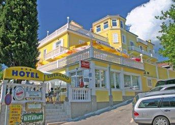 8 nap az Adriai-tengernél, a Kvarner-öbölben, Selcében, félpanzióval, az Esperanto*** Hotelben