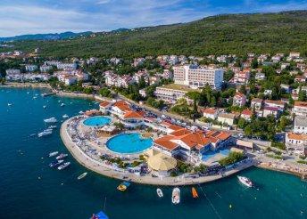 8 napos vakáció az Adriai-tengernél, a Kvarner-öbölben, Selcében, félpanzióval, a Katarina**** Hotelben