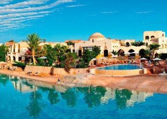 8 napos vakáció Egyiptomban, Hurghadán, repülőjeggyel, félpanzióval, a Dawar el Omda**** hotelben