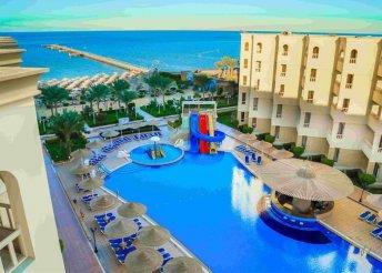 8 napos vakáció Egyiptomban, Hurghadán, repülővel, all inclusive ellátással, az AMC Royal***** Hotelben