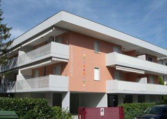 Pihenés Velence közelében, Bibionéban, önellátással, a Clessidra e Andrea Doria I Apartmanban