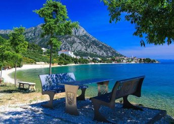 8 nap az Adriai-tengernél, a makarskai riviérán, Gradacban, all inclusive ellátással a Labineca*** Hotelben