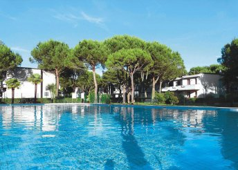 Pihenés Olaszországban, a tengerparton, Bibionéban, önellátással, a Villaggio White Starban