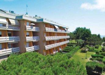 Szállás az olasz Adrián, Bibionéban, az Atollo Apartmanházban, önellátással