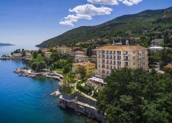 8 napos kikapcsolódás az Adriai-tengernél, Lovranban, félpanzióval, a Hotel Bristolban***