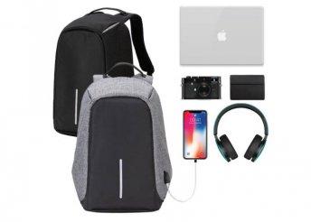 Lopásbiztos hátizsák, két színben