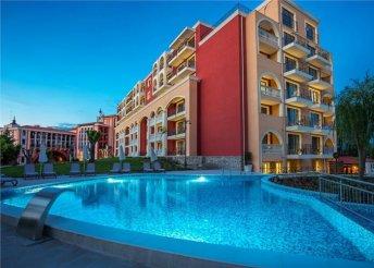 8 nap a bulgáriai Naposparton, repülőjeggyel, teljes ellátással, a Via Pontica***** hotelben