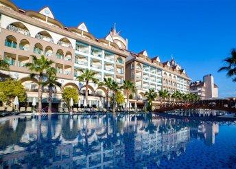 8 nap a török riviérán, Sidében, repülőjeggyel, all inclusive ellátással, a Side Crown Palace-ben*****