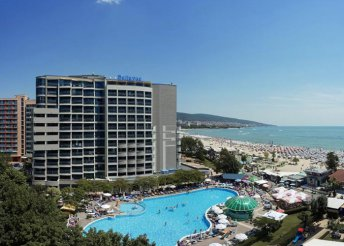 8 nap a bulgáriai Naposparton, repülőjeggyel, all inclusive ellátással, a Bellevue Hotelben****