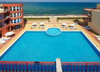 8 nap Naposparton, repülőjeggyel, all inclusive ellátással, a Relax Pomorie Hotelben***