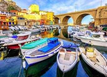 8 napos körutazás Dél-Franciaországban és Észak-Olaszországban, busszal, reggelivel, idegenvezetéssel