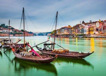 8 napos körút Portugáliában, repülőjeggyel, reggelivel és 3 vacsorával, helyi busszal, idegenvezetéssel