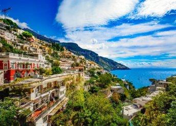 8 napos kirándulás Dél-Olaszországba, buszos utazással, reggelivel és vacsorákkal, idegenvezetéssel