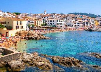 7 napos nyaralás Costa Braván, Barcelona közelében, repülőjeggyel, félpanzióval, fakultatív programokkal