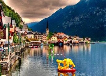 5 napos kirándulás Ausztriában, Salzkammergut régióban, buszos utazással, félpanzióval, idegenvezetéssel